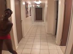 Ebony Footjob 9
