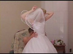 Mature wedding dress -6383-